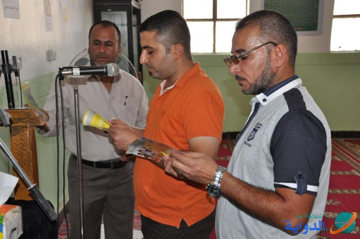 الحمله الذاتيه للقضاء على مرض الكوليرا : المركز الصحي النموذجي في الدوايه