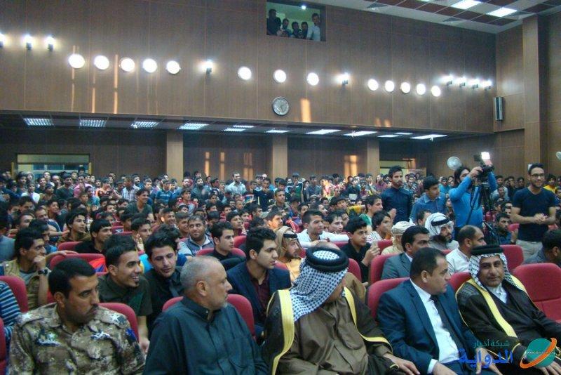 منتدى الشاعر جواد القاضي يقيم مهرجاناً لتأسيسه -تقرير مصور-